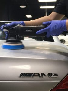 detail car cleaning