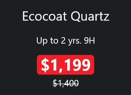 Ecocoat Quartz promo